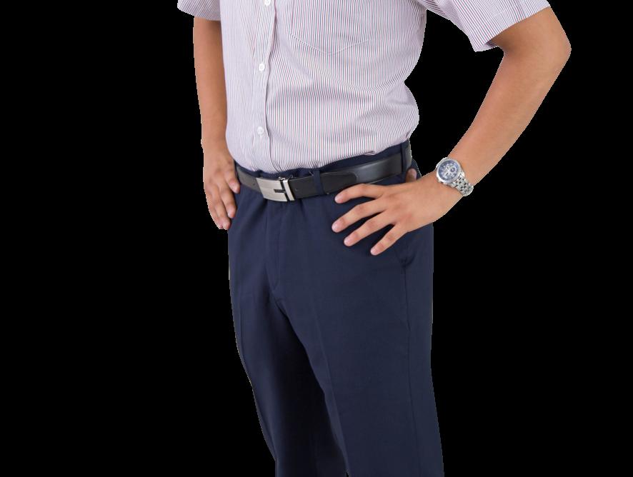 Camisa ejecutiva Lennon Rojo